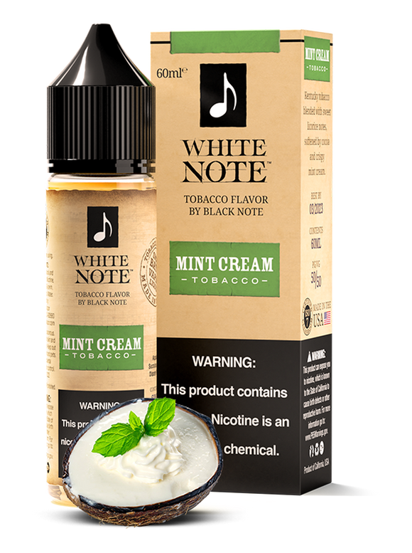MINT CREAM - WHITE NOTE | 60 ML E-LIQUID