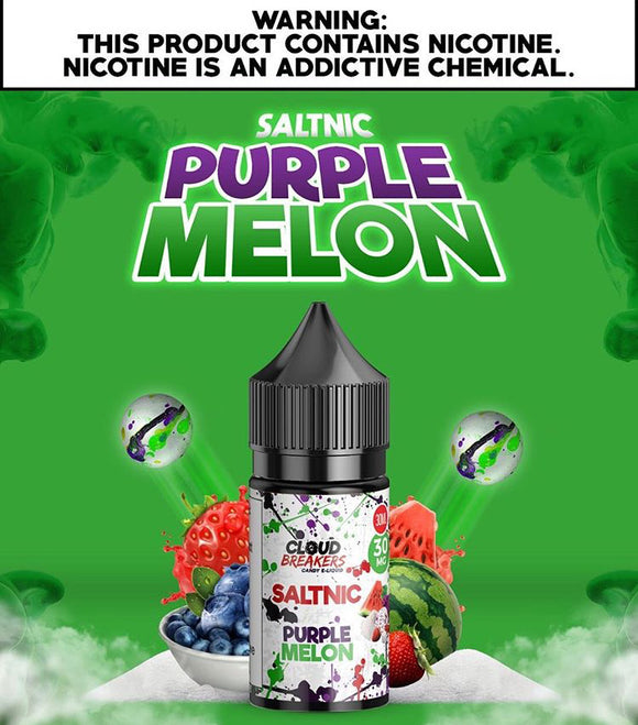 Purple Melon Salt Nic by Cloud Breakers | Premium Vapes UAE