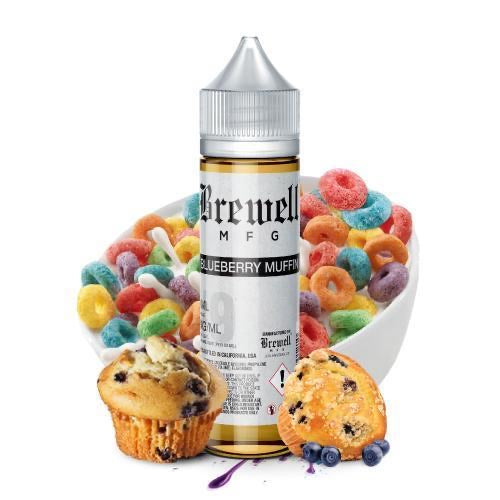 Blueberry Muffin Eliquid 60ml - Brewel MFG
