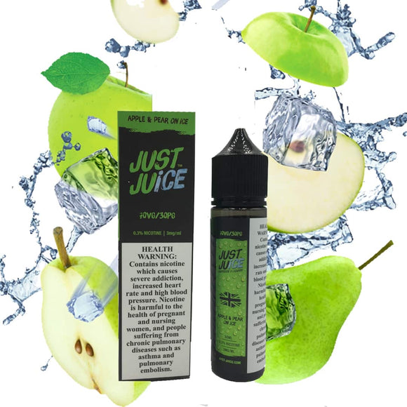 Just Juice - Apple and Pear on Ice 3mg 50ml
