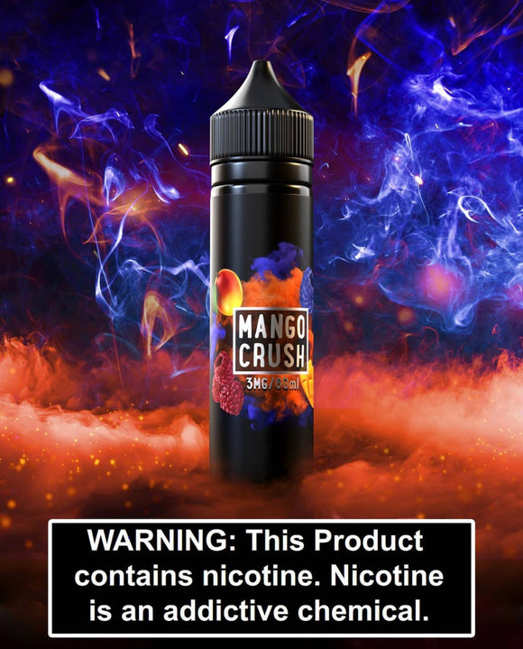 Mango Crush Eliquid - Sams Vape premium vapes shop uae