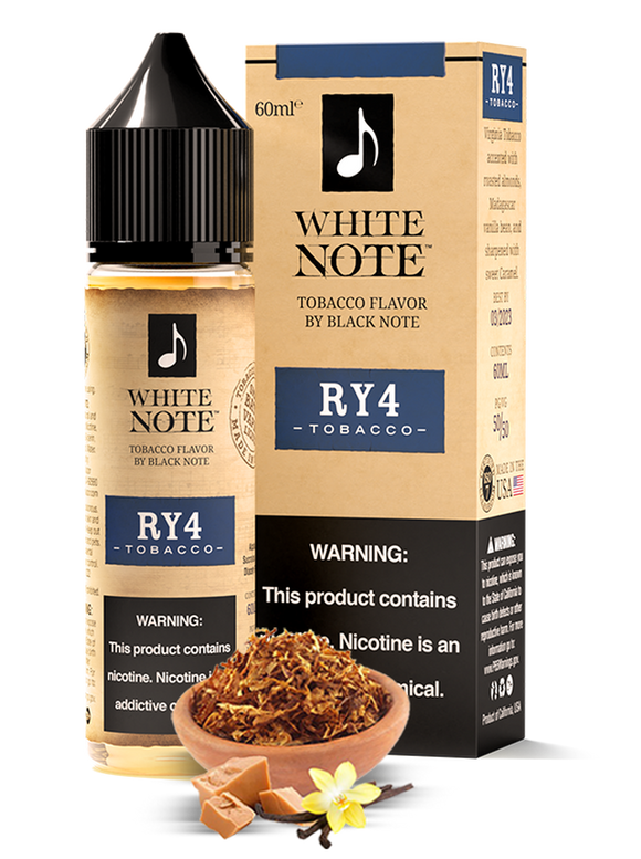RY4 - WHITE NOTE | 60 ML E-LIQUID premium vapes shop uae