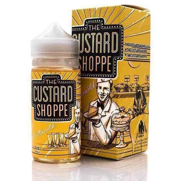THE CUSTARD SHOPPE - BUTTERSCOTCH E-LIQUID 100ML