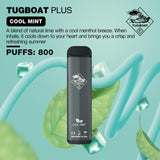 Tugboat Plus 800 Puffs Disposable Pod (1 Pod)