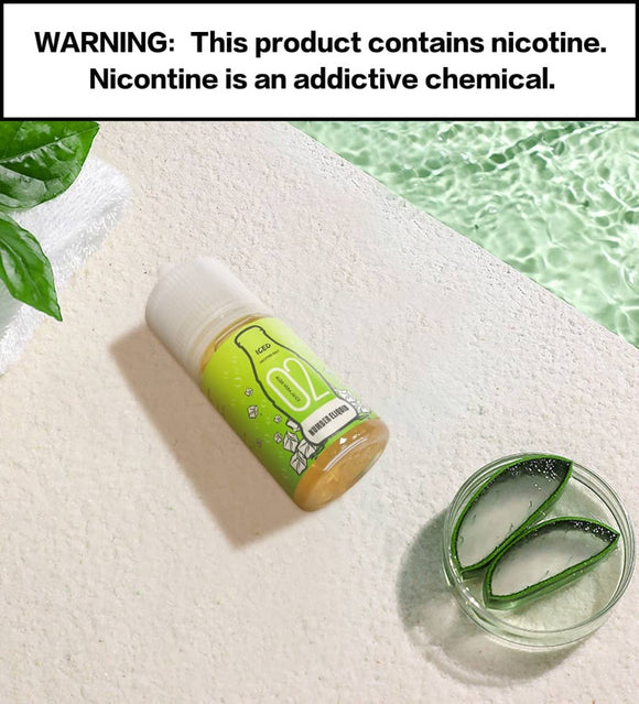 Numbers E-liquid - Number 2 Aloe Vera Juice SaltNic 30ml / 35mg,30ml / 50mg | Premium Vapes shop UAE