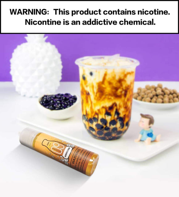 Numbers E-liquid - Number 9 Caramel Macchiato 60ml / 3mg| Premium Vapes shop UAE
