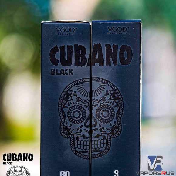 Black Cubano by VGOD | Premium Vapes UAE - The first vape store in UAE