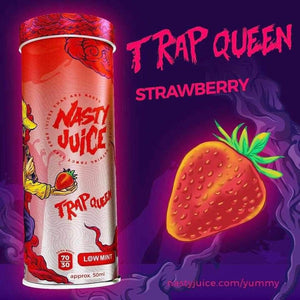 Nasty Juice - TRAP QUEEN STRAWBERRY | UAE Vapors R Us - The first vape store in UAE