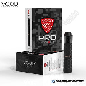 VGOD PRO Mech 2 Kit with Elite RDA | UAE Vapors R Us - The first vape store in UAE