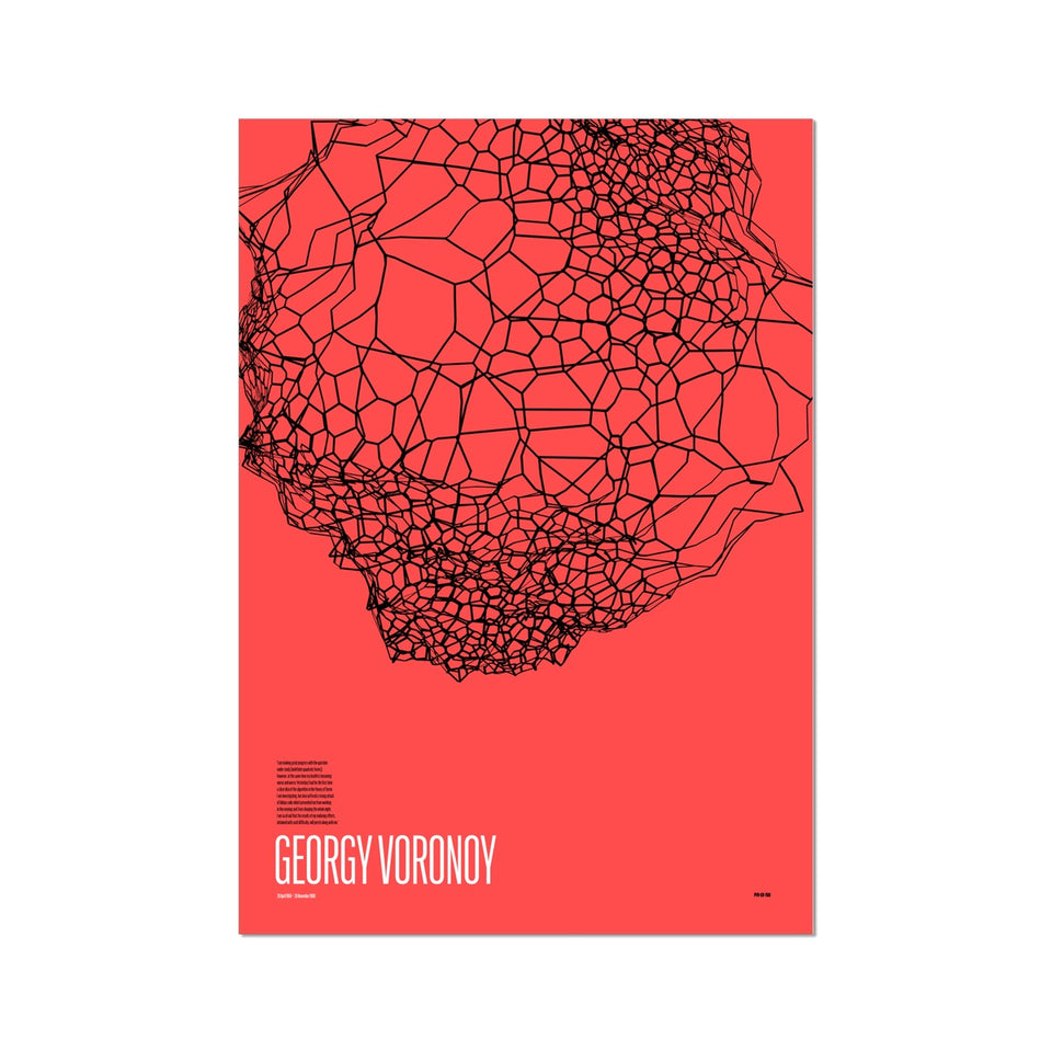 Georgy Voronoy GV-760 Generative Print