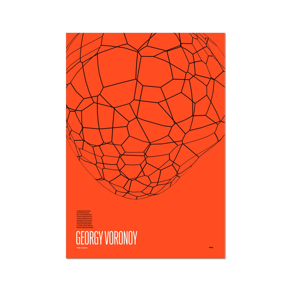 Georgy Voronoy GV-32 Generative Print