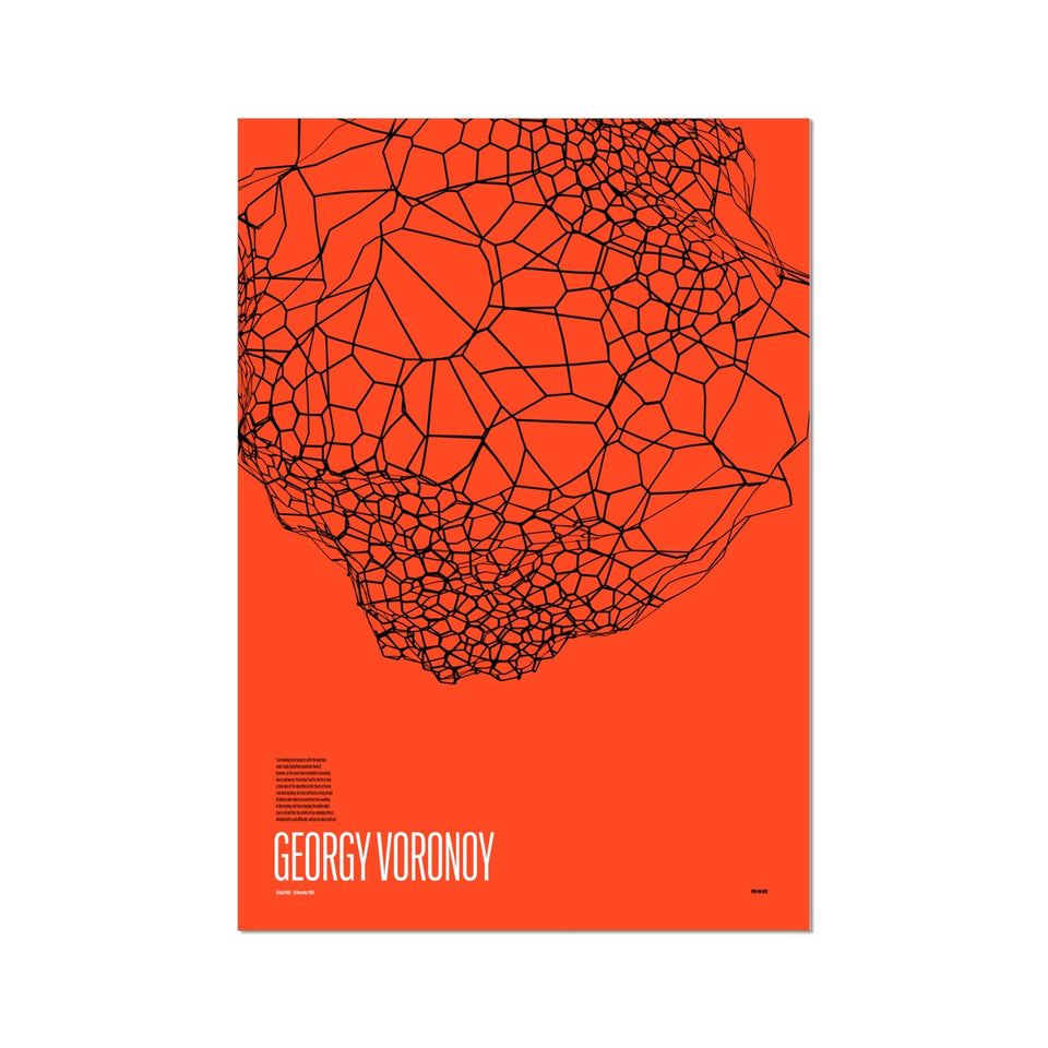 Georgy Voronoy GV-657 Generative Print