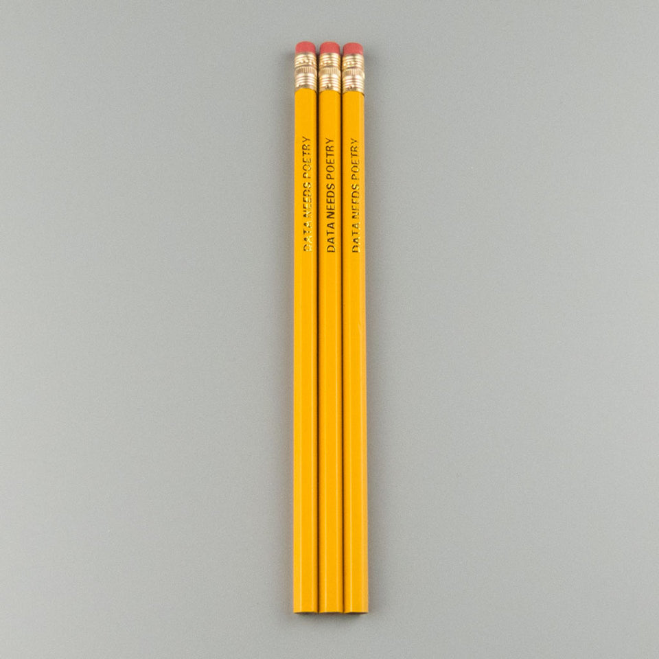 Data Needs Poetry Pencils