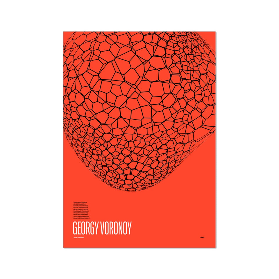 Georgy Voronoy GV-28 Generative Print