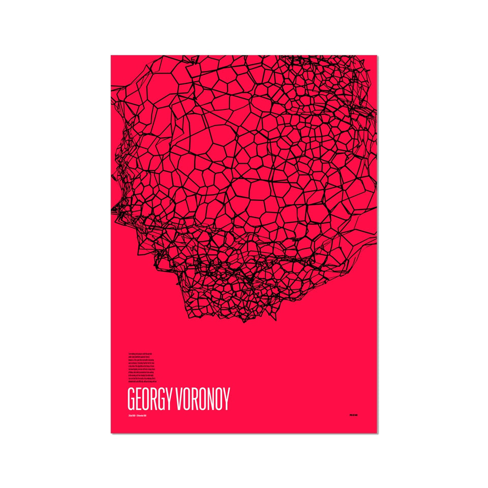 Georgy Voronoy GV-840 Generative Print