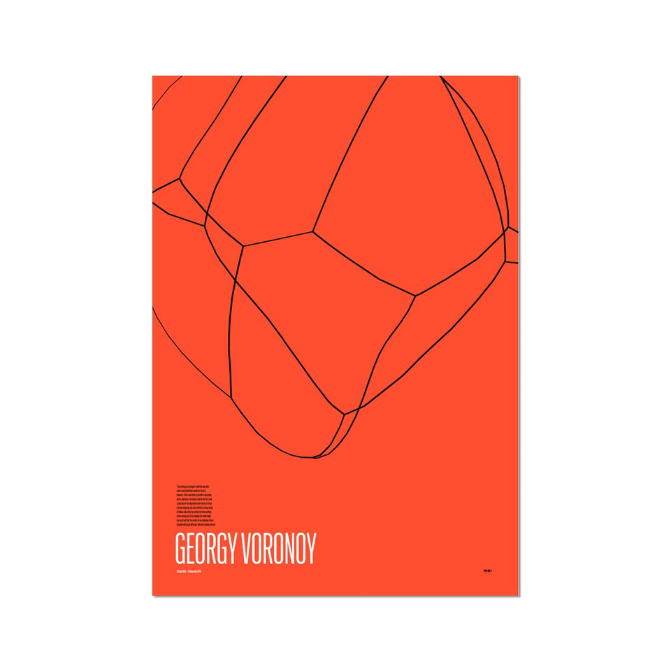 Georgy Voronoy GV-1 Generative Print