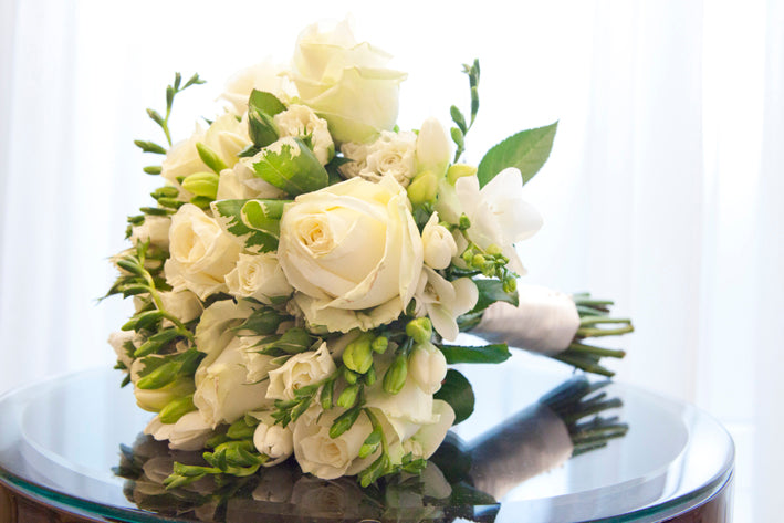 Tips on choosing your wedding florist