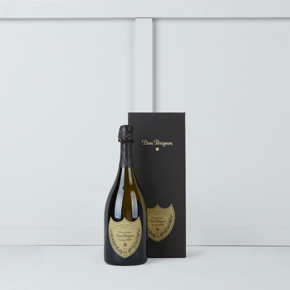 One bottle of Dom Perignon champagne