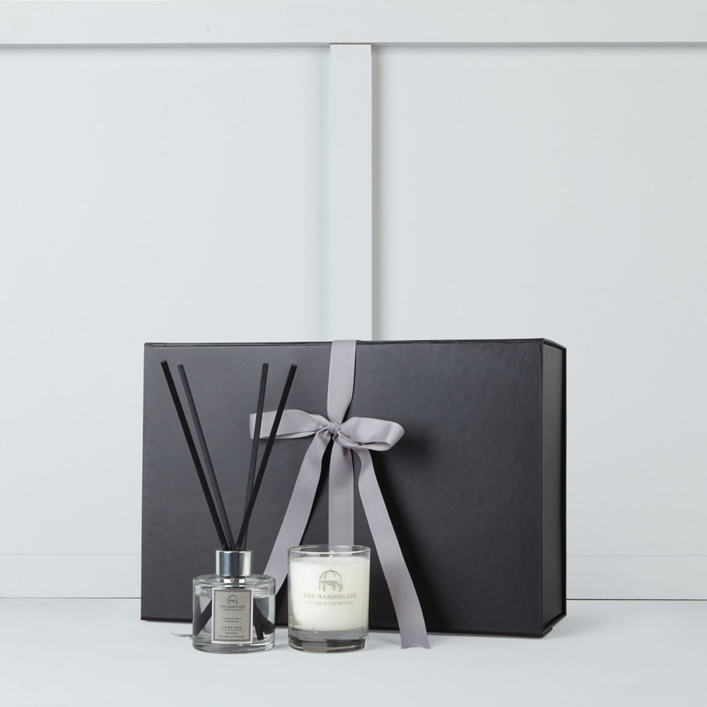 Candle and diffuser by The Harrogate Candle Company