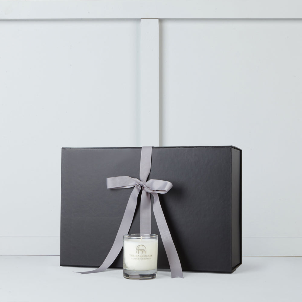 Scented candle by The Harrogate Candle Company