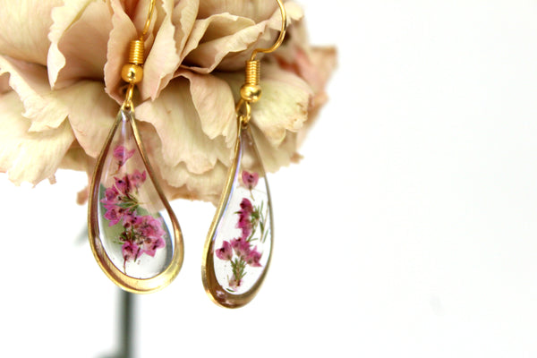 Heather Earrings - Mallet & Mandrel