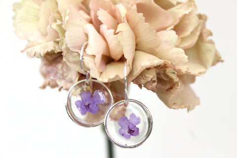 Wildflower Earrings, Sterling Silver - Mallet & Mandrel