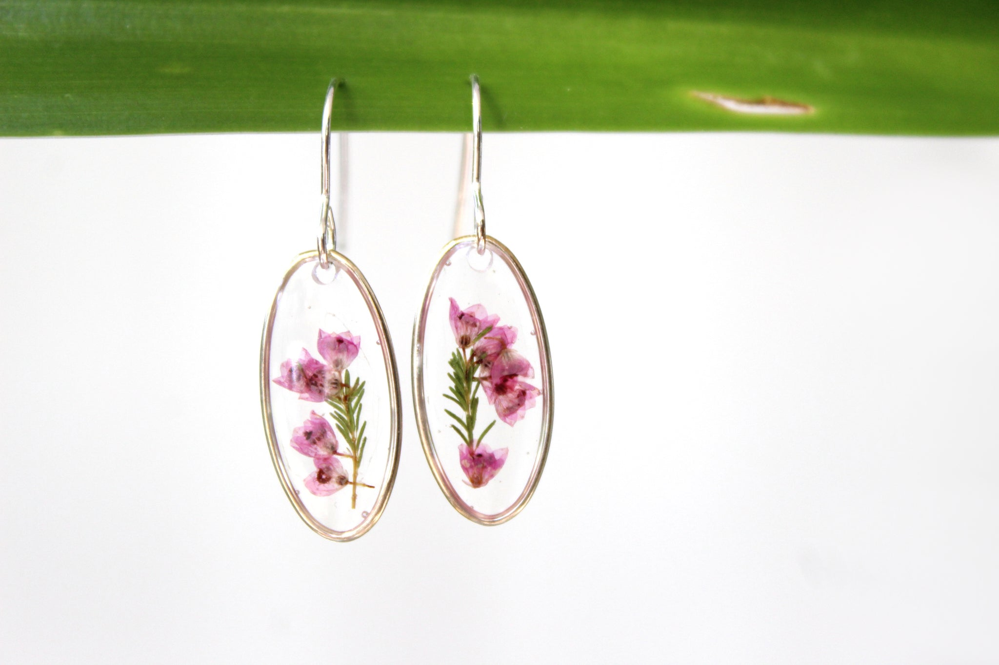 Heather Earrings, Sterling Silver - Mallet & Mandrel