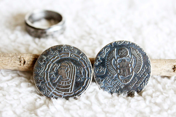 Egyptian Coin Ring - Mallet & Mandrel