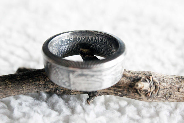 Walking Liberty Coin Ring - Mallet & Mandrel