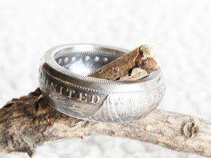 Morgan Silver Round Coin Ring - Mallet & Mandrel