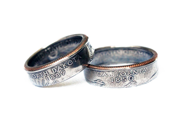 State Quarter Coin Ring - Mallet & Mandrel