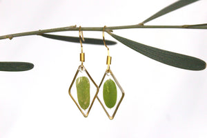 Small Leave Earrings