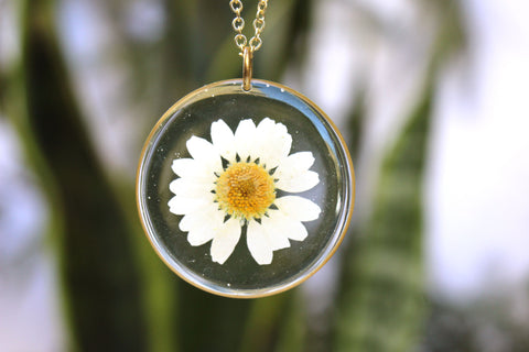 Daisy Necklace, Large - Mallet & Mandrel
