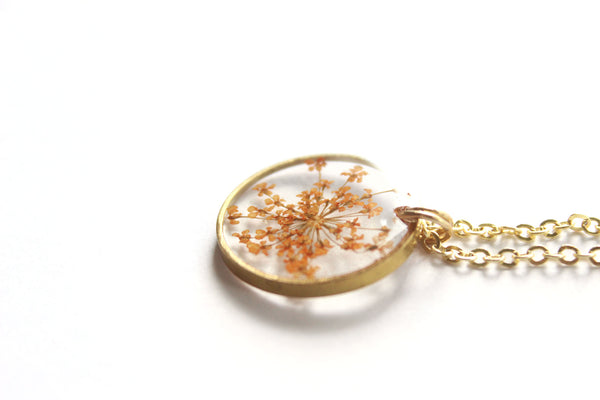 Queen Anne's Lace Necklace - Mallet & Mandrel