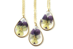 Violet Necklace - Mallet & Mandrel