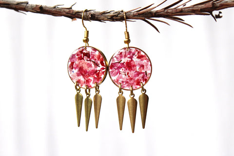 Bougainvillea Earrings