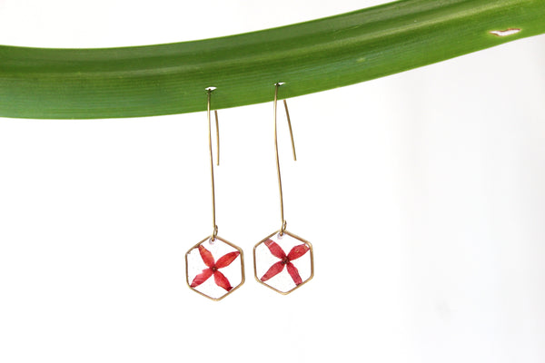 Jungle Flame Earrings - Mallet & Mandrel