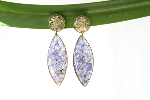 Larkspur Earrings - Mallet & Mandrel