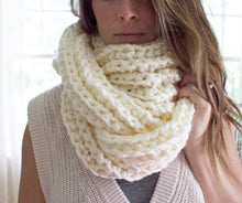 Chunky Infinity Scarf | Knit Scarf | Simply Maggie