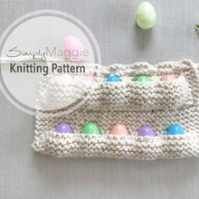 Knitting Pattern | Child's Knit Egg Collecting Apron | Egg Apron |  Knitting Pattern | Beginner's Pattern | Simply Maggie