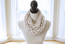 Knitting Kit | Arm Knitting Kit | Chunky Scarf | Infinity Scarf | DIY Kit | Simply Maggie