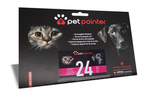 Petpointer GPS Tracker for cats and dogs bundle deal -  24 month service plan
