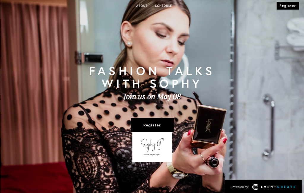 "First Fashion Club ""Fashion Talks with Sophy"" opens its doors on May 8th in Dubai"