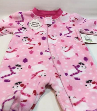 f7b03681ddc Polar Bear Baby Fleece Footed Sleeper Pajamas Girl size 0-3 Months by  Holiday Time