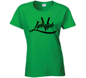 Valid Lyfestyle1 Ladies T Shirt