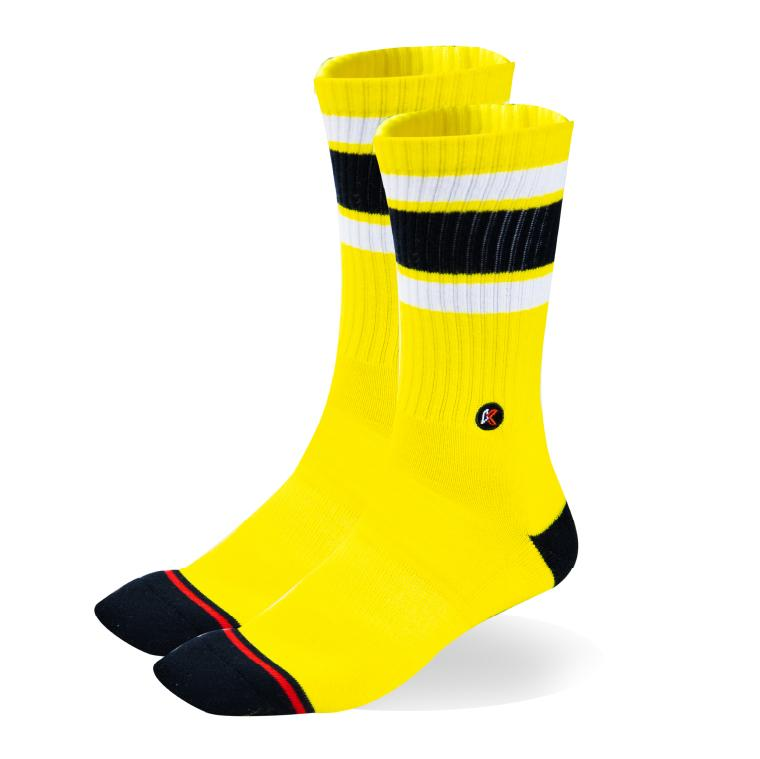 Yellow Crew Sock
