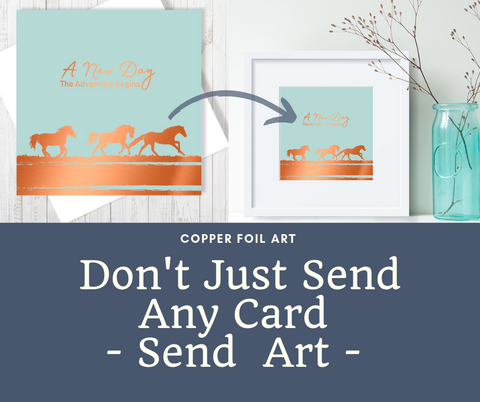 Don't just send any card, send art