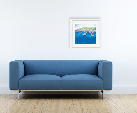 Harbour Rest, Cornwall - Gallery View by Abigail Bryan