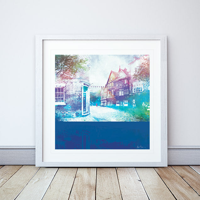 50 High Street Framed Print by Abigail Bryan