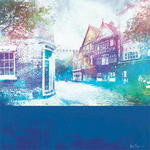 50 High Street, Nantwich - mounted print by Abigail Bryan